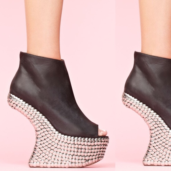 9816b2a515f Jeffrey Campbell Night Tick studded platform boots